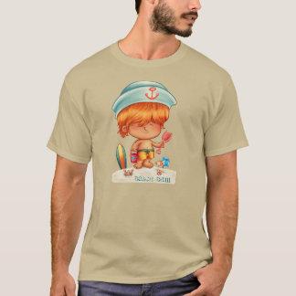 Red-Headed Beach Bum T-Shirt