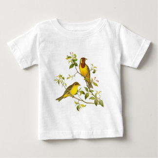 Red-headed Bunting Baby T-Shirt