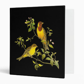 Red-headed Bunting Binder