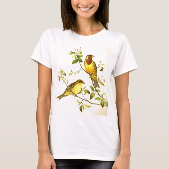 Red-headed Bunting Emberiza bruniceps T-Shirt