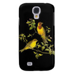 Red-Headed Bunting Galaxy S4 Cover