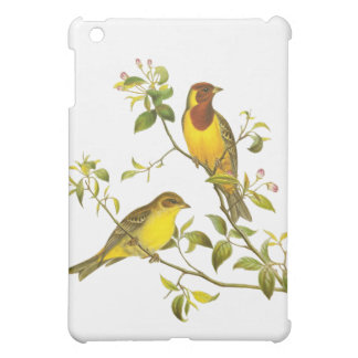 Red-Headed Bunting Case For The iPad Mini