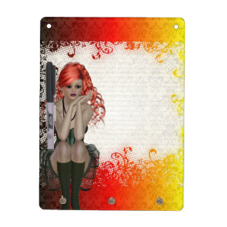 Red headed goth girl Dry-Erase board