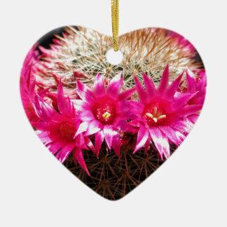 Red Headed Irishman Cactus, Customizable! Ceramic Ornament