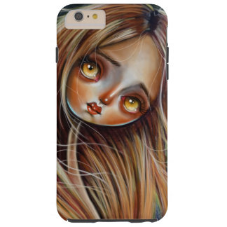 Red Headed Lady Pop Surrealism Phone Iphone Case