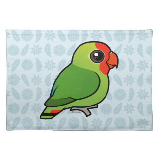 Red-headed Lovebird Cloth Placemat