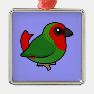 Red-headed Parrotfinch Ornament