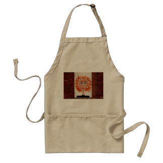 Red Headed Woman Adult Apron