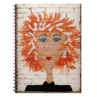 Red Headed Woman Note Book