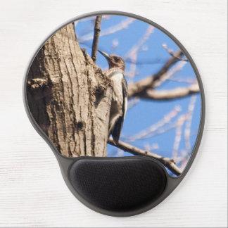 Red-headed Woodpecker Gel Mouse Pad