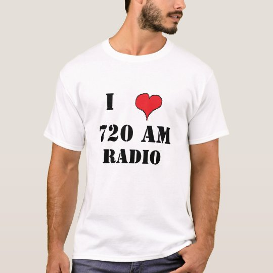RED HEART 1, 720 AM, I, RADIO T-Shirt