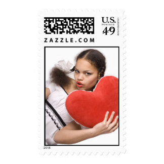 Red Heart_1 Postage Stamps