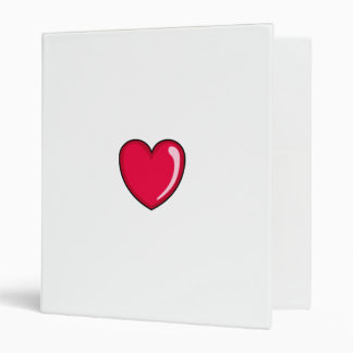 Red Heart 3 Ring Binders