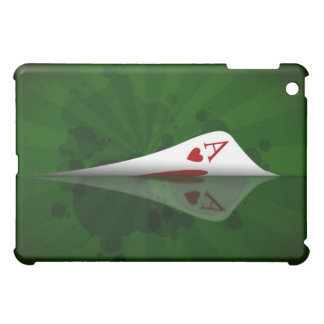 Red Heart Ace Case Case For The iPad Mini