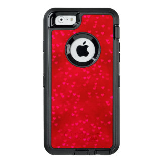 Red Heart Apple iPhone 6/6s Defender Series Case