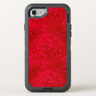 Red Heart Apple iPhone 6/6s Defender Series OtterBox Defender iPhone 7 Case