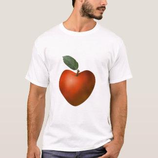 Red Heart Apple - T-shirt