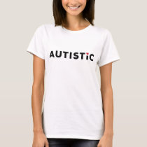 Red Heart Autistic T-Shirt
