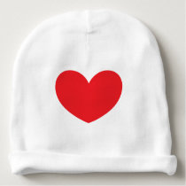 Red Heart Baby Hat