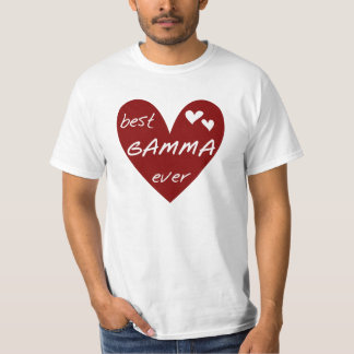 Red Heart Best Gamma Ever Tshirts and Gifts