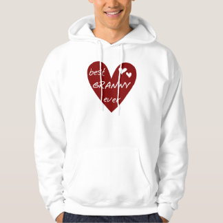 Red Heart Best Granny Ever Tshirts and Gifts