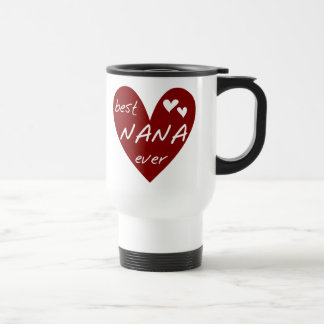 Red Heart Best Nana Ever T-shirts and Gifts Mug