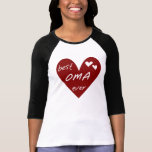 Red Heart Best Oma Ever T-shirts and Gifts