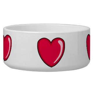 Red Heart Bowl