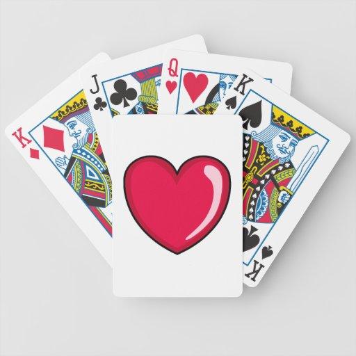 Red Heart Card Deck