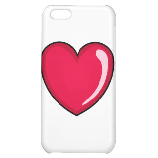 Red Heart Case For iPhone 5C