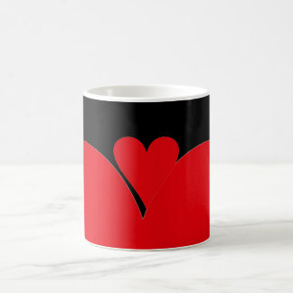 Red Heart Coffee Mug
