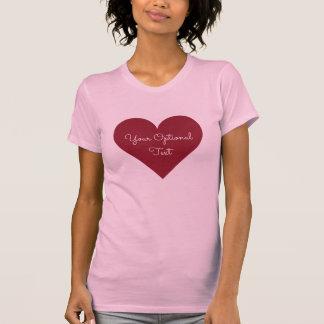 Red Heart custom text shirts & jackets