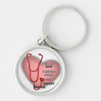 Red Heart EMT Keychain