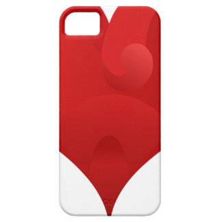 Red Heart For Valentine day iPhone SE/5/5s Case