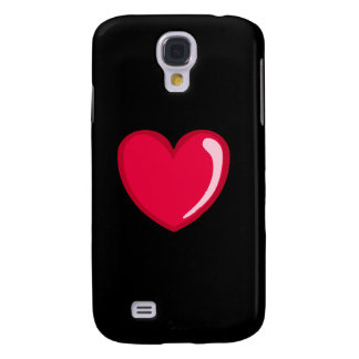 Red Heart Galaxy S4 Covers