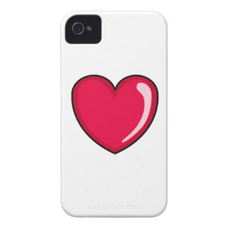Red Heart iPhone 4 Cases