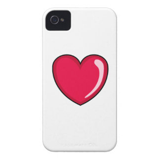 Red Heart iPhone 4 Cover