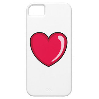 Red Heart iPhone 5 Cover