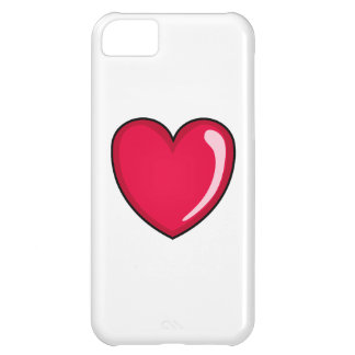 Red Heart iPhone 5C Covers