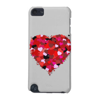 Red Heart iPod Touch 5G Cases