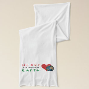 Red Heart is anagram for Green Earth Scarf