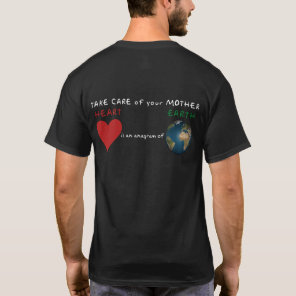 Red Heart is anagram for Green Earth T-Shirt