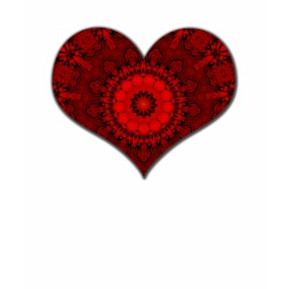 Red Heart Kaleidoscope shirt
