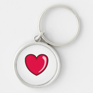Red Heart Key Chain