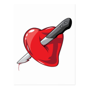 Heart With A Knife Through It