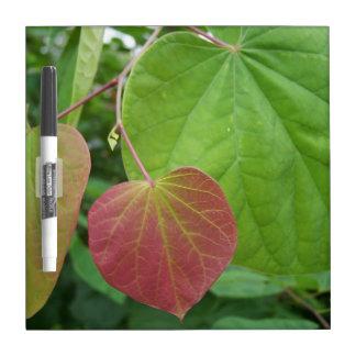 Red Heart Leaf Dry-Erase Board
