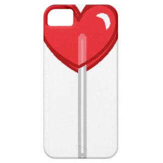 red heart lollipop iPhone SE/5/5s case