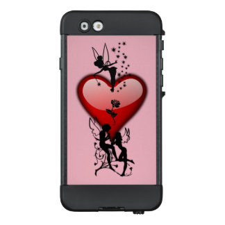 Red Heart love fairies case for iPone@ 6