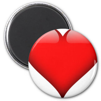 Red Heart Love Magnet