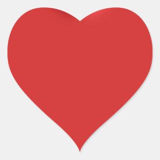 Red Heart Love  Romantic Puffy Heart 3D Heart Sticker
